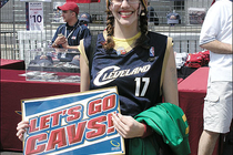 Cavaliers: Cavaliers vs. Wizards Fan Photos - April 22, 2006