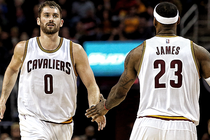Kevin Love, LeBron James