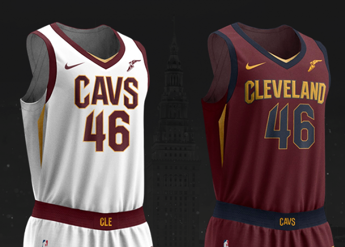 c605c5017d88 Cavaliers Unveil All New Nike Uniforms for the 2017-18 Season ...