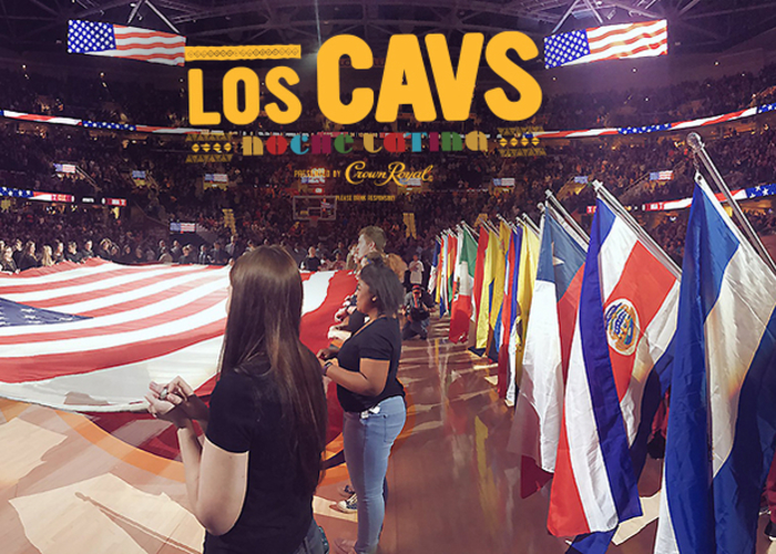 Cavs Host Fourth Annual Noche Latina Celebration at The Q