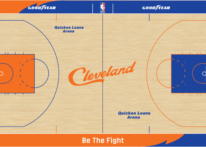 Cavs Introduce 2018-19 Cleveland City Edition Uniform and Court