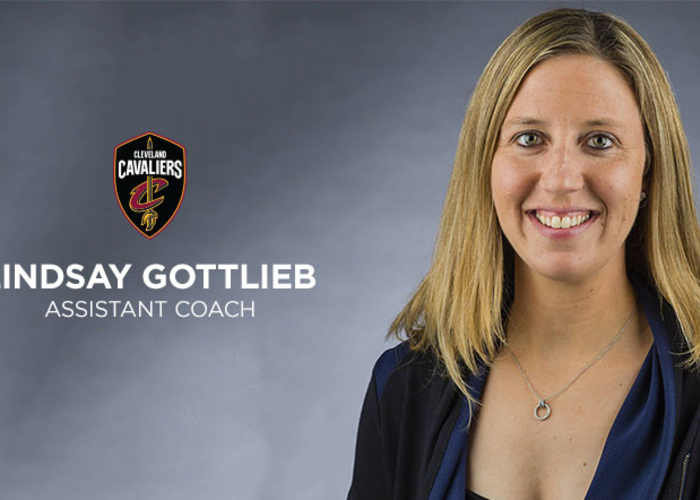 nba.com - Joe Sykes - Cavaliers Hire Lindsay Gottlieb as Assistant Coach