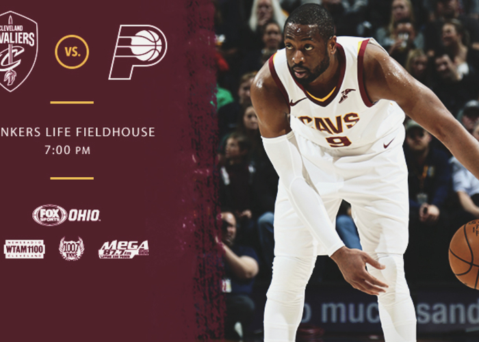 CavsPacers Game Preview - January 12, 2018   Cleveland Cavaliers