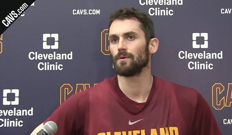 KLove Talks #CavsPacers Game 5 from Tuesday's Practice
