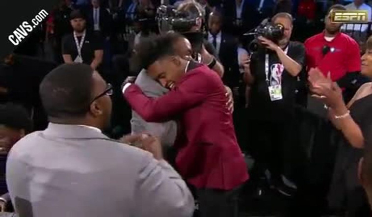 Cavs Select Collin Sexton with the 8th Pick