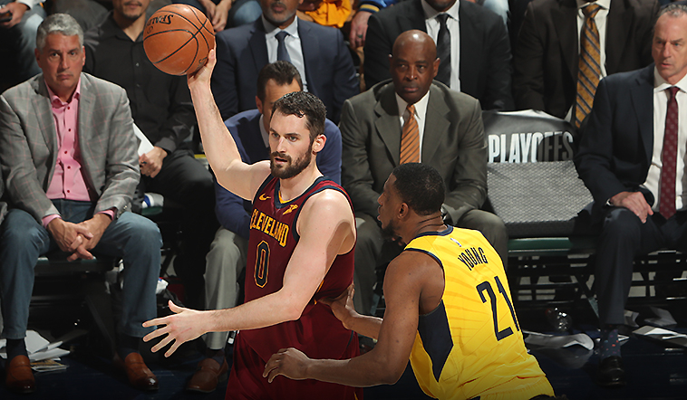 Cavs Unable to Hold on in Indy, Fall 92-90 in Game 3