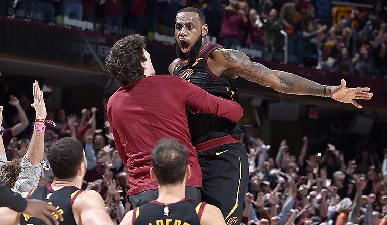 LeBron's Bomb Sinks Pacers in Game 5 Thriller