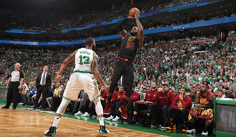 Celtics Edge Cavs in Game 5 to Take 3-2 Series Lead