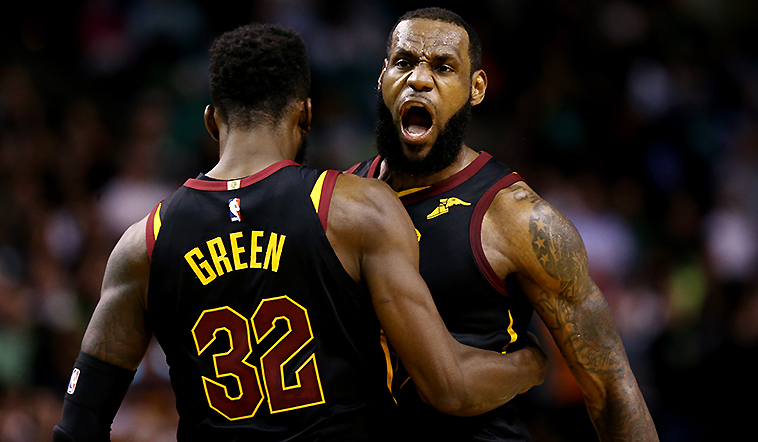 Cavs Sink Celts in Seven, Still Beasts of the East