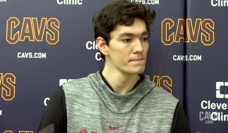 Cedi Excited for Cavs' Home Opener vs. Hawks