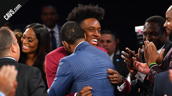 Collin Sexton Takes the Stage at No. 8