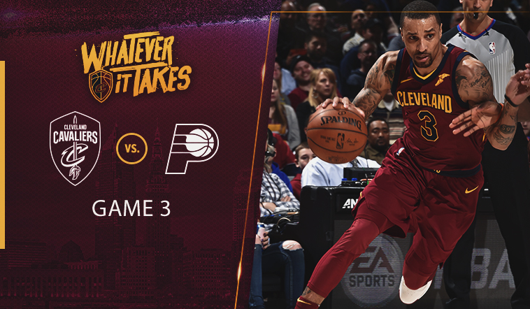 View Friday's #CavsPacers Game 3 Preview
