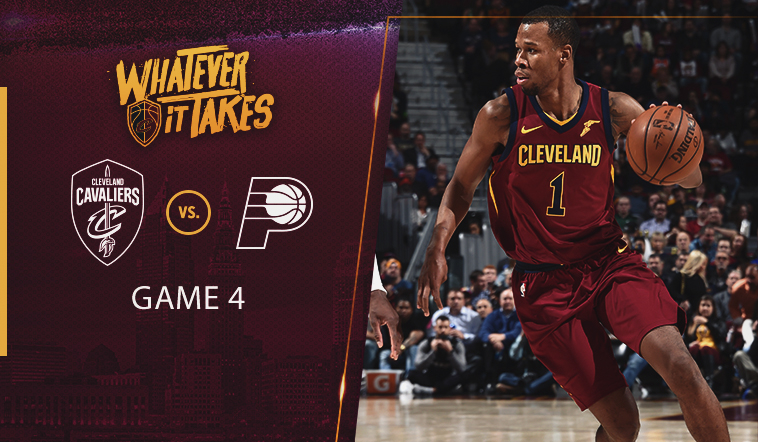 Sunday's #CavsPacers Game 4 Preview