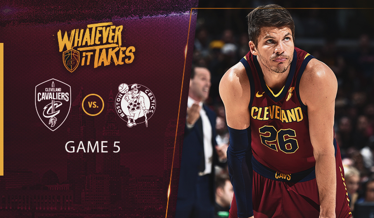 Wednesday's #CavsCeltics Game 5 Preview