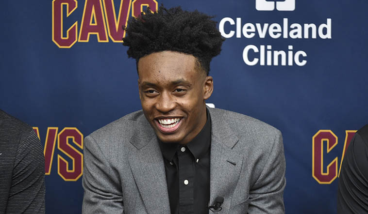 Cavaliers Introduce Collin Sexton