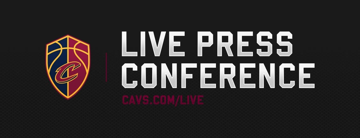Tune in at Approximately 1PM ET for a Live Press Conference w/ Collin Sexton & GM Koby Altman