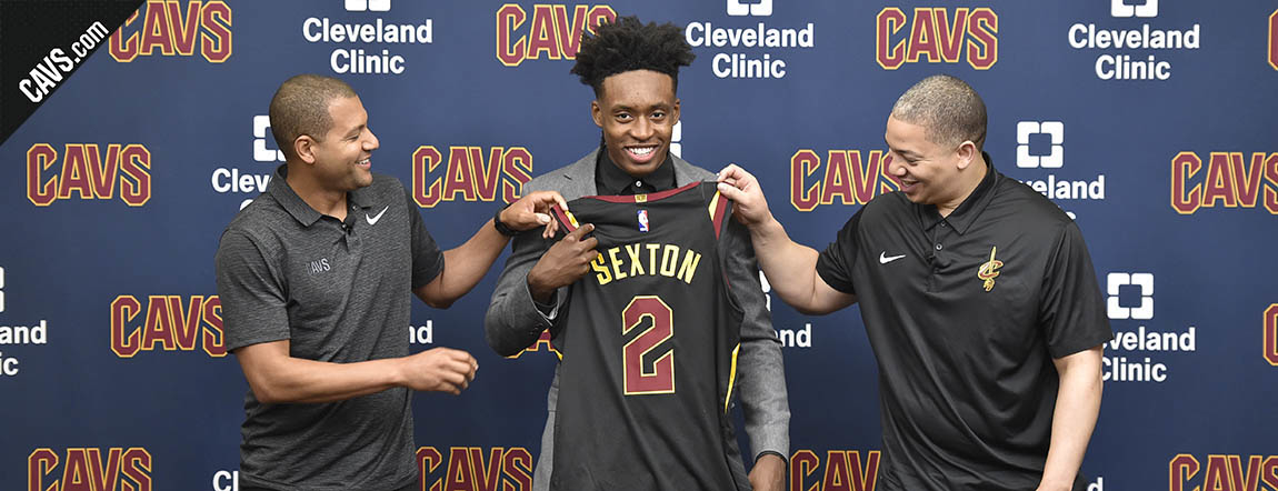 Click Here to Watch Friday's Press Conference w/ Collin Sexton, Tyronn Lue and Koby Altman