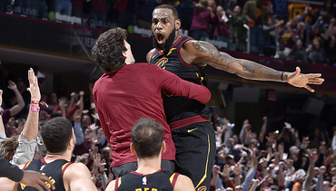 LeBron's Bomb Sinks Pacers in Game 5