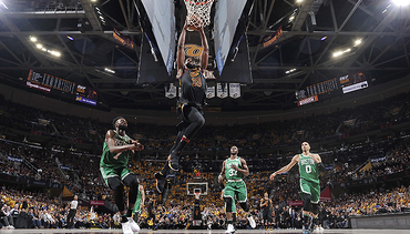 Cavs Get Even, Stymie Celts at The Q
