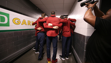Huddle Up and Discuss Tonight's Game