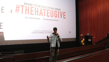 George Hill Hosts Private Movie Showing for High Schoolers