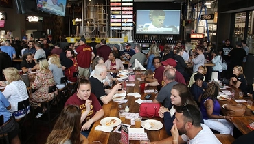 Peep Pics from the 2018 Draft Watch Party