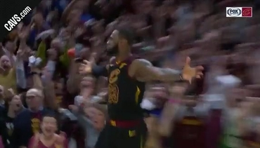 Featured Highlight: LBJ at the Buzzer