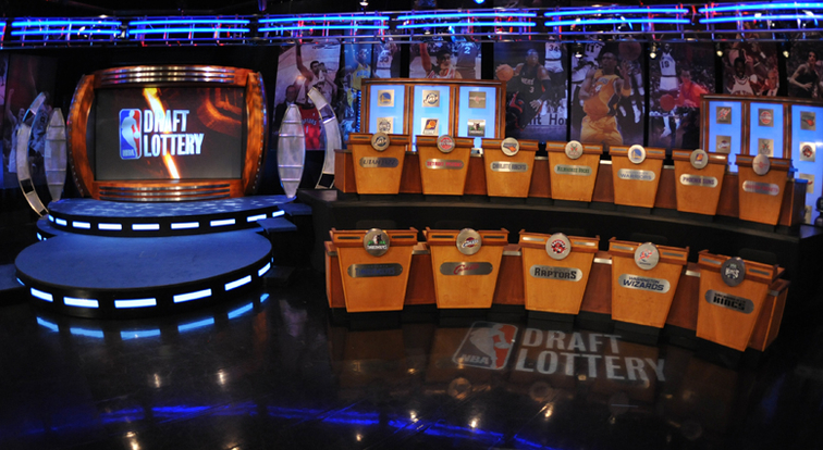 Draft Lottery Stage