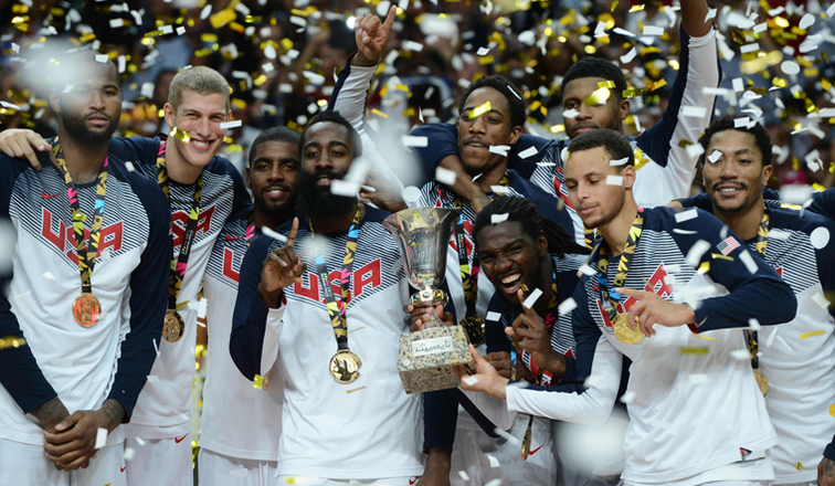 bb3f21df5c3e USA Fires Its Way To FIBA World Cup Gold Medal