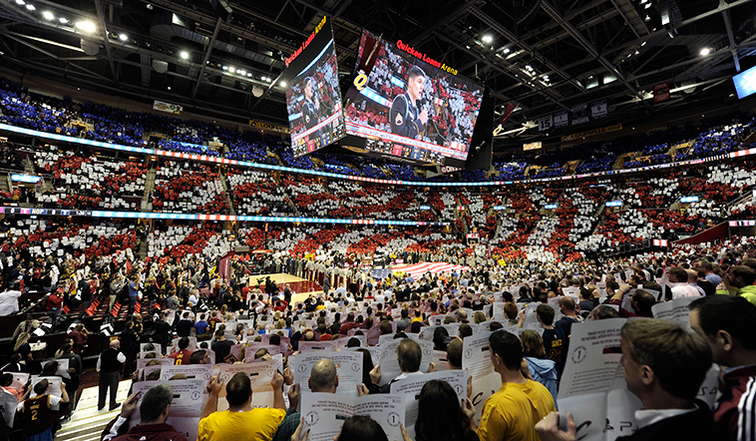 Cavaliers Hold Open Call National Anthem Auditions for 2015-16 ...