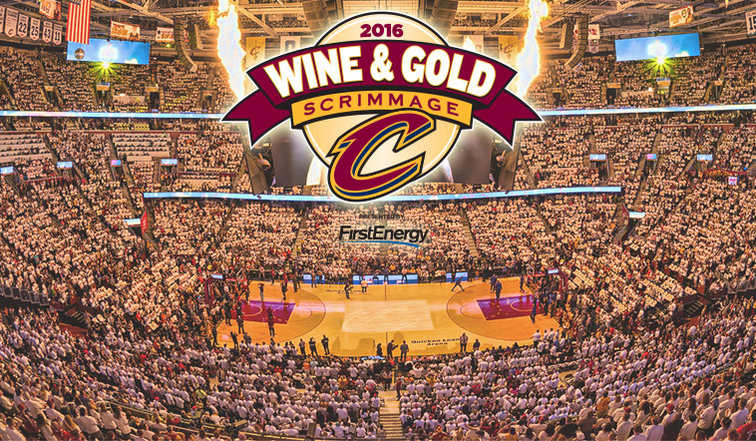 b7155dee1783 Cavs Host FREE Wine & Gold Scrimmage October 2nd | Cleveland Cavaliers