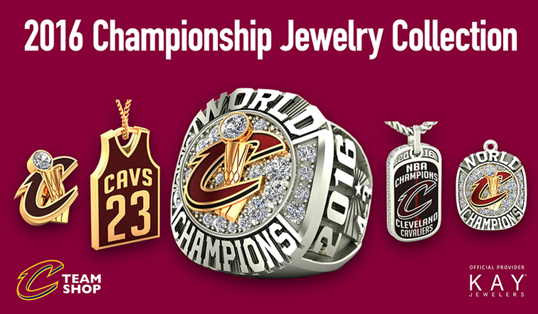Cavaliers 2016 Championship Jewelry Collection Cleveland Cavaliers