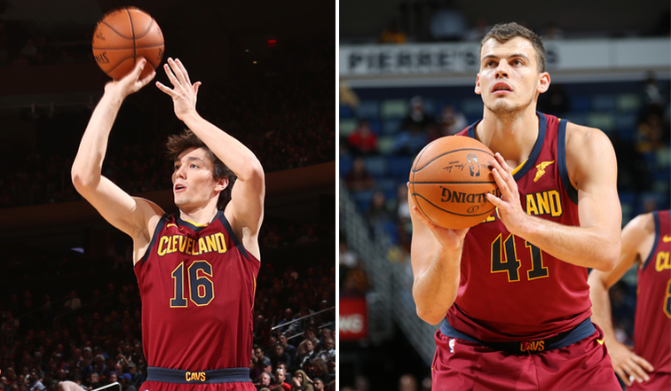 6665922c7 Cavs Recall Cedi Osman and Ante Zizic from Canton Charge