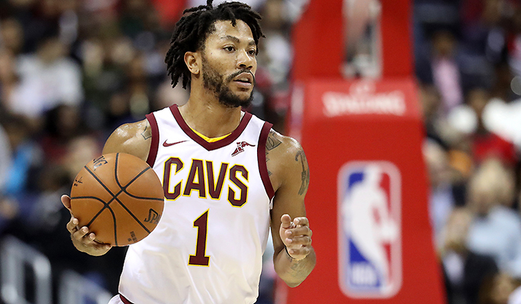 Rose returns to Cavaliers to resume rehab on sprained ankle