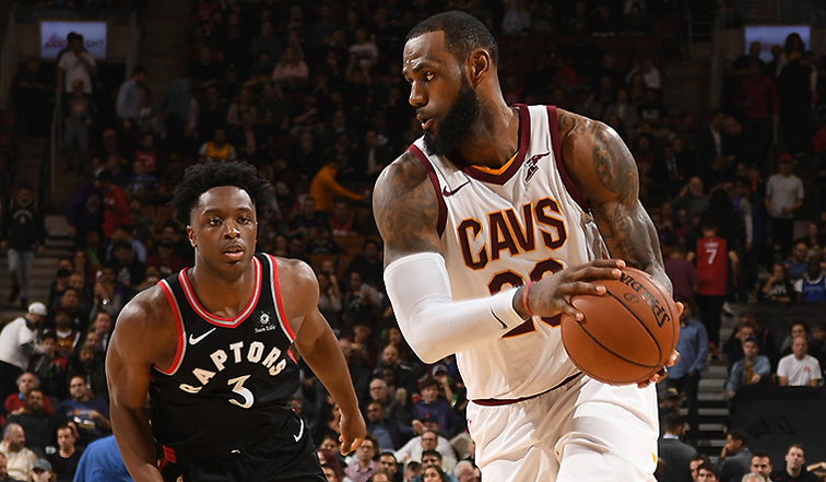 b3bd884e76b Cavs  Road Woes Continue in Toronto