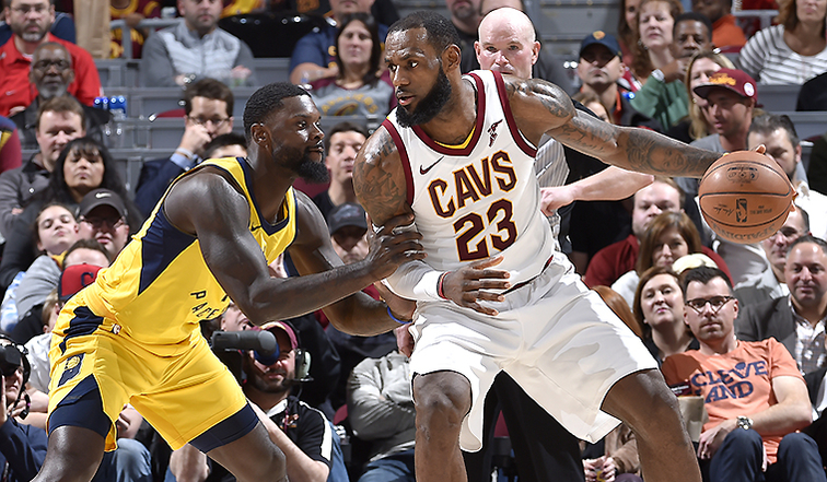 90c175d61800 New-Look Cavs Hold Off Pacers Rally at The Q