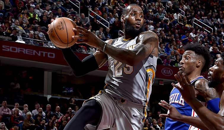 LeBron swats talk of visit to Philly during All-Star break
