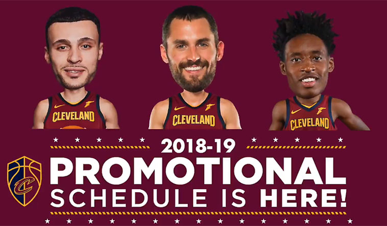 2018 19 Promotional And Theme Night Schedule Cleveland Cavaliers