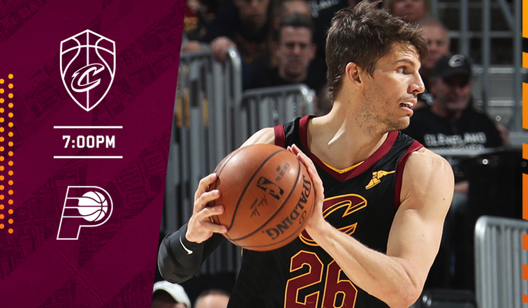 ebe7781c394 CavsPacers Game Preview - October 8, 2018 | Cleveland Cavaliers