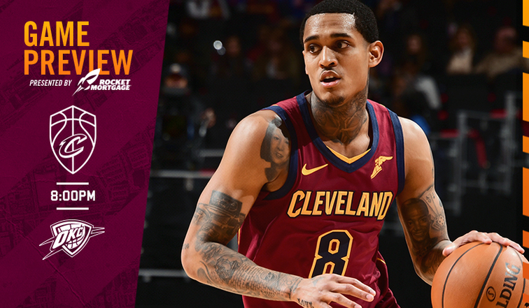 CavsThunder Game Preview   Cleveland Cavaliers