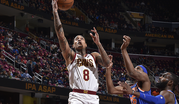 6246f0116d26 Bench Boost Lifts Wine & Gold Over Knicks | Cleveland Cavaliers