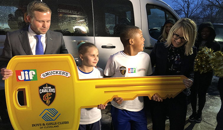 Image result for Cavaliers Surprise Boys and Girls Club With New Van