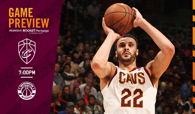 CavsWizards Game Preview       Capital One Arena at 7PM | FOX Sports Ohio | WTAM 1100 100.7 WMMS 87.7 La Mega