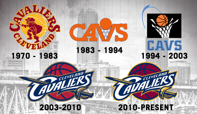 Cavaliers Uniform And Logo History Cleveland Cavaliers