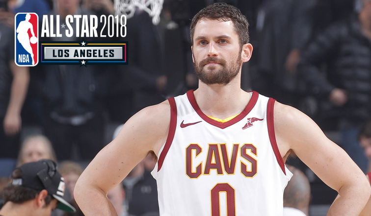 Kevin Love Named 2018 All-Star Reserve | Cleveland Cavaliers