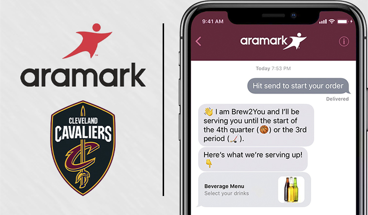 Cavs & Aramark Launch Mobile Ordering at Quicken Loans Arena