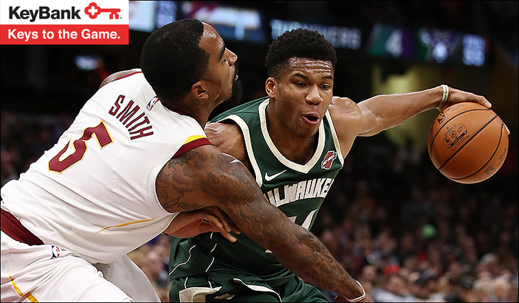 Cleveland Cavaliers at Milwaukee Bucks, Game 32 preview and listings