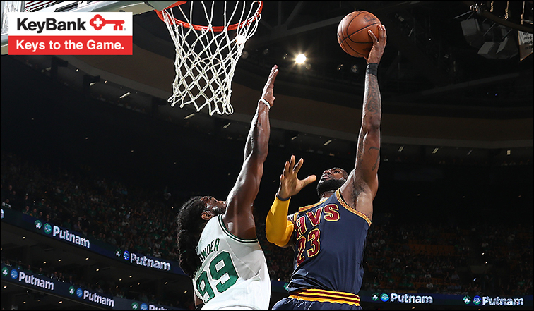 LeBron lights up the Garden as Cavs crush Celtics