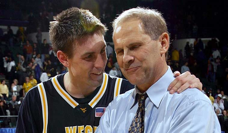 Mike Gansey and John Beilein back at West Virginia