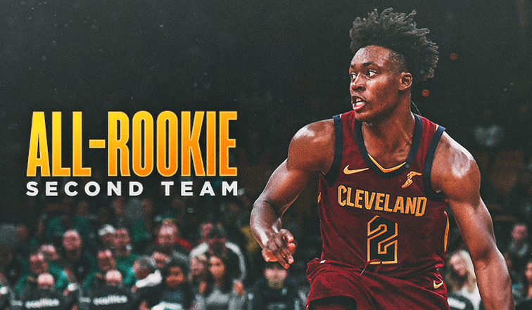 944a47815f1 Collin Sexton Named to NBA All-Rookie Second Team